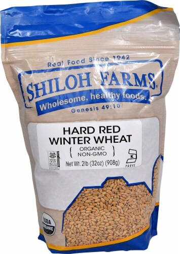 Shiloh Farms Organic Hard Red Winter Wheat Perspective: front