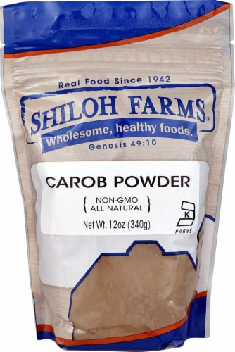 Shiloh Farms Carob Powder Perspective: front