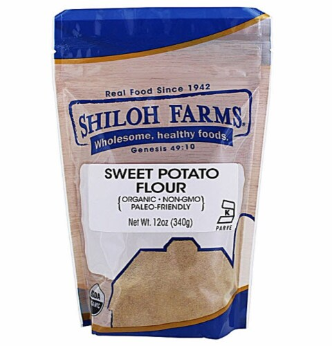 Shiloh Farms Organic Sweet Potato Flour Perspective: front