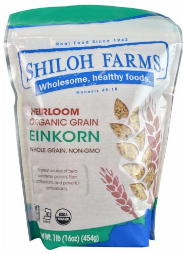 Shiloh Farms Organic Heirloom Einkorn Wheat Perspective: front