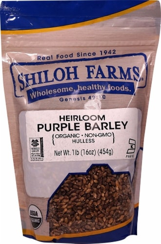 Shiloh Farms Hulless Purple Barley Perspective: front
