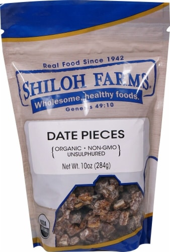 Shiloh Farms  Organic Date Pieces Perspective: front
