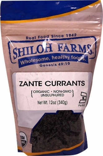 Shiloh Farms  Organic Zante Currants Perspective: front