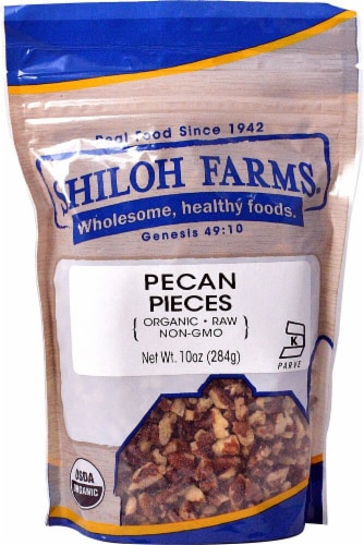 Shiloh Farms Organic Pecan Pieces Perspective: front