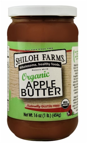 Shiloh Farms  Organic Apple Butter Perspective: front