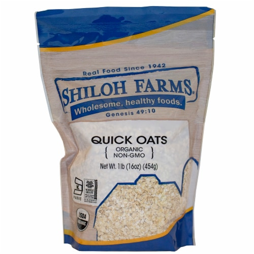 Shiloh Farms Organic Quick Oats Perspective: front
