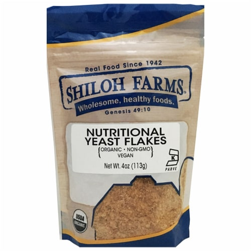 Shiloh Farms Organic Nutritional Yeast Flakes Perspective: front