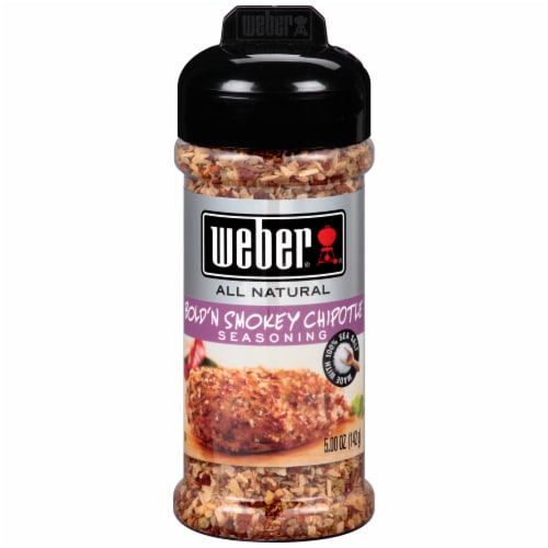 Weber All Natural Bold'n Smokey Chipotle Seasoning Perspective: front
