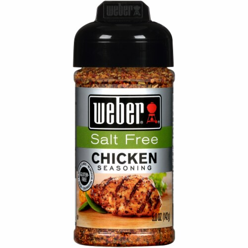 Weber Salt Free Chicken Seasoning Perspective: front