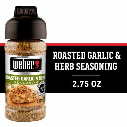 Weber Roasted Garlic & Herb Seasoning Shaker Perspective: front