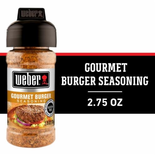 Weber Grill Gourmet Burger Seasoning Shaker Perspective: front