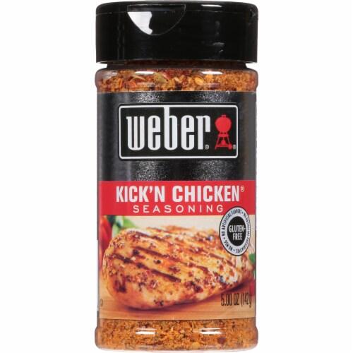 Weber Kick'n Chicken Seasoning Perspective: front