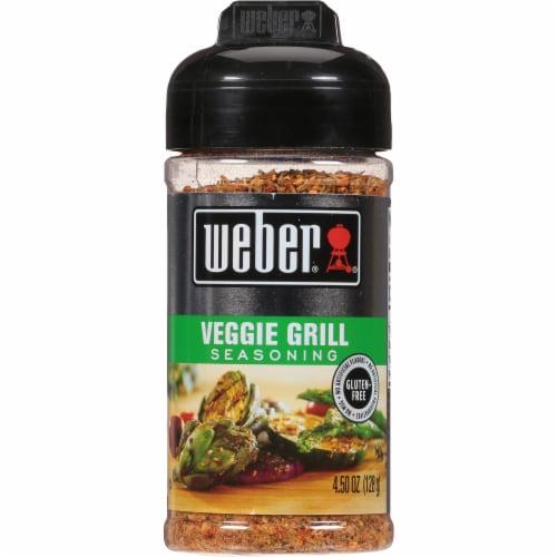 Weber Veggie Grill Seasoning Perspective: front