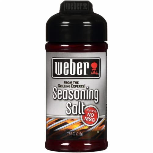 Weber Seasoning Salt Perspective: front