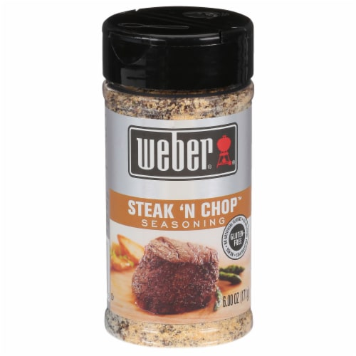 Weber Steak 'N Chop Seasoning Perspective: front