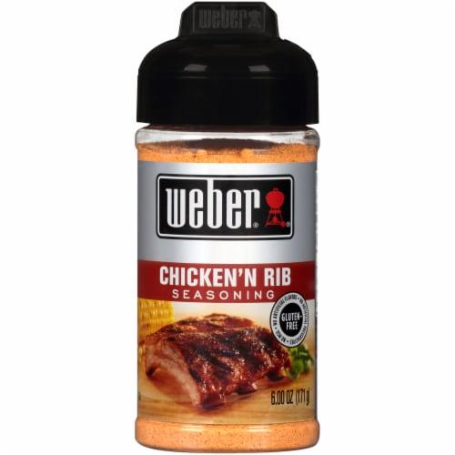 Weber Chicken 'N Rib Seasoning Perspective: front