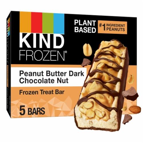 Kind Frozen Dark Chocolate Peanut Butter Treat Bars Perspective: front