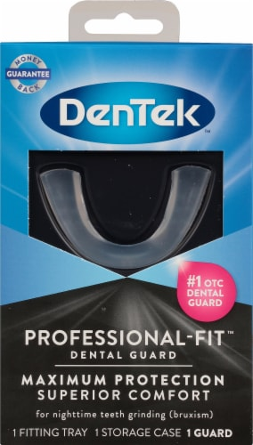 DenTek Maximum Protection Nighttime Dental Guard Perspective: front