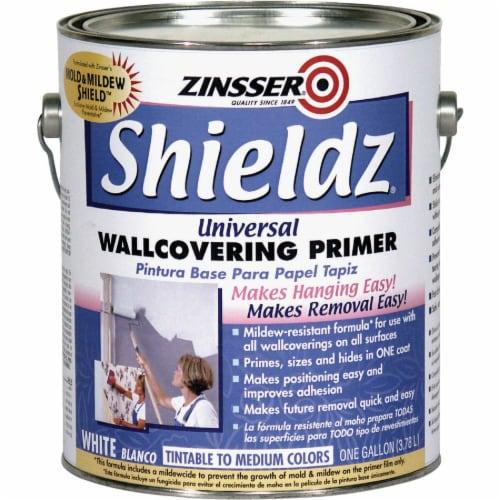 Zinsser  Shieldz Universal  White  Wallcovering Primer  1 gal. - Case Of: 4; Perspective: front