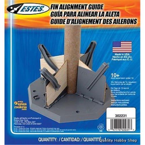 Estes EST2231 Fin Alignment Guide Model Rocket Building Perspective: front