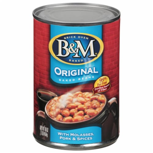 B&M Original Baked Beans Perspective: front