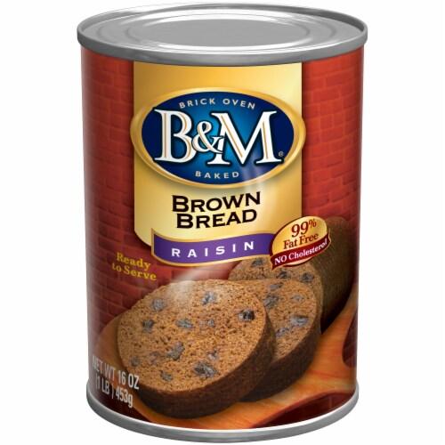 B&M Raisin Brown Bread Perspective: front