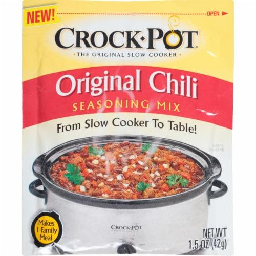 Crock-Pot Original Chili Seasoning Mix Perspective: front