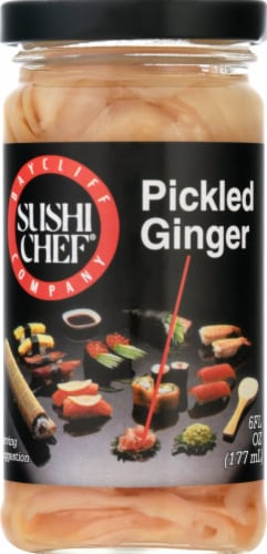 Sushi Chef Pickled Ginger Perspective: front