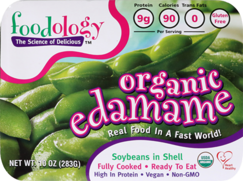 Foodology Organic Edamame Perspective: front