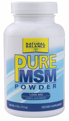 Natural Balance  Pure MSM™ Powder   Unflavored Perspective: front