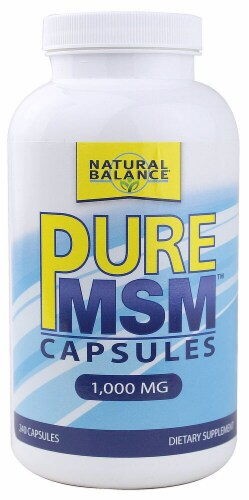 Natural Balance  Pure MSM™ Capsules Perspective: front