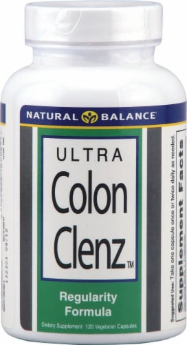 Natural BalanceUltra Colon Clenz Vegetarian Capsules Perspective: front