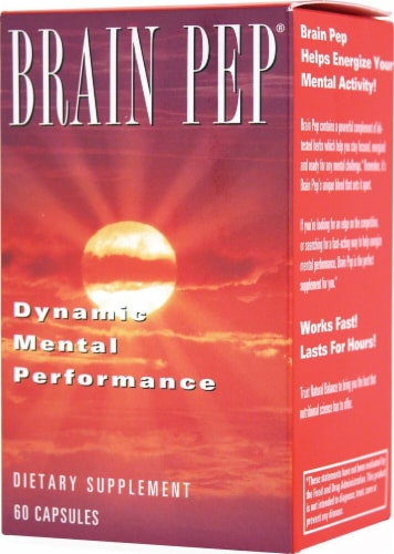 Natural Balance  Brain Pep® Perspective: front