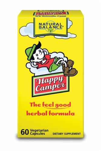Natural Balance Happy Camper Herbal Formula Vegetarian Capsules Perspective: front