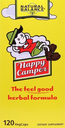 Natural Balance Happy Camper Dietary Supplement Perspective: front