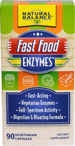 Natural Balance  Fast Food Enzymes™ Perspective: front