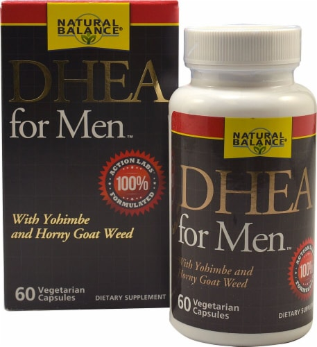 Natural Balance DHEA for Men Perspective: front