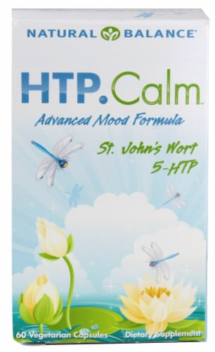 Natural Balance HTP Calm Vegetarian Capsules Perspective: front