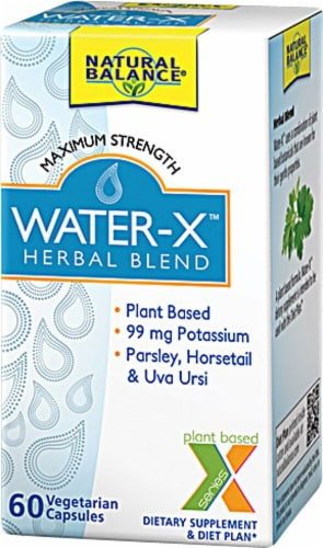 Natural Balance  Water-X™ Herbal Blend Maximum Strength Perspective: front