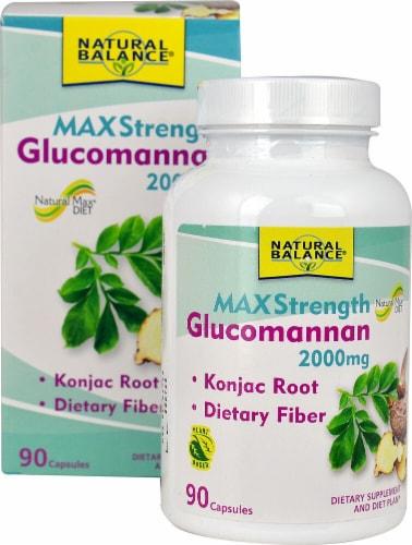 Natural Balance  Glucomannan™ MaxStrength Perspective: front