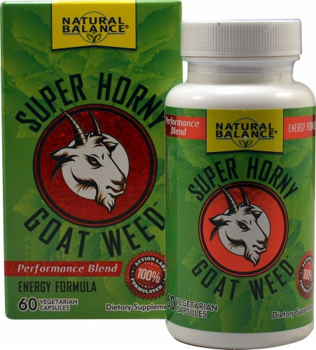 Natural Balance  Super Horny Goat Weed Perspective: front