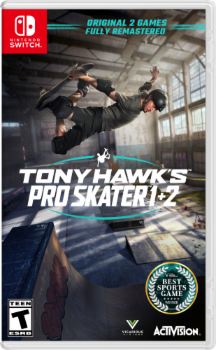 Tony Hawk's Pro Skater 1+2 (Nintendo Switch) Perspective: front