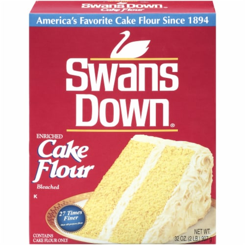 Swans Down Cake Flour Perspective: front