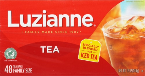 Luzianne Iced Tea Bags Perspective: front