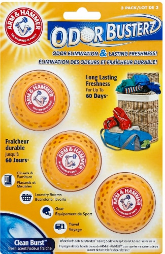 Arm and Hammer Odor Busterz - Orange Perspective: front