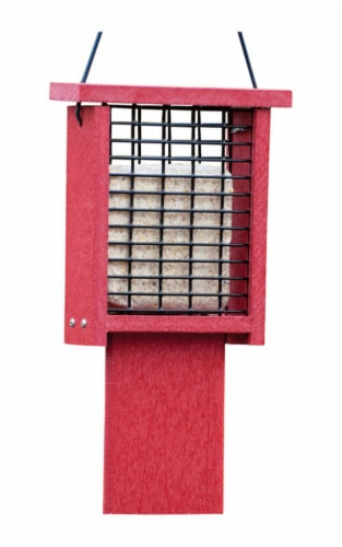 WoodLink Going Green Tail Prop Suet Feeder Perspective: front