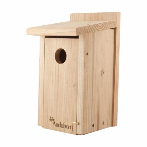 Audubon 12 x 6.25 x 7.5 in. Red Cedar Bird House Perspective: front