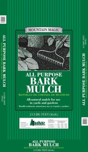 Mountain Magic All Purpose Bark Mulch Perspective: front