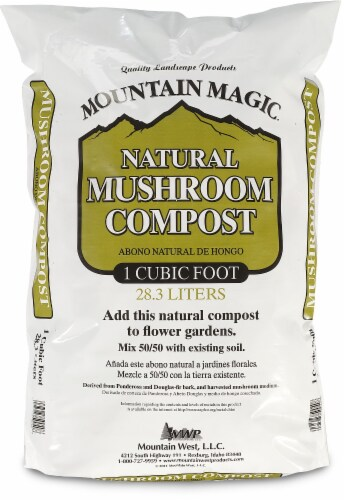 Mountain West Products Mountain Magic Mushroom Compost Perspective: front