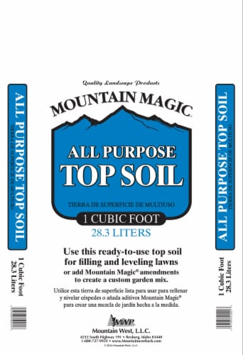 Mountain West Products Mountain Magic Top Soil Perspective: front